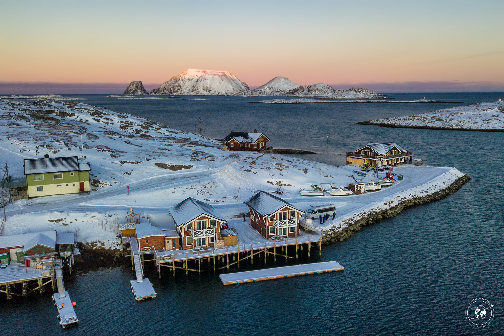 Alba di Mezzogiorno - viaggio a Capo Nord in inverno
