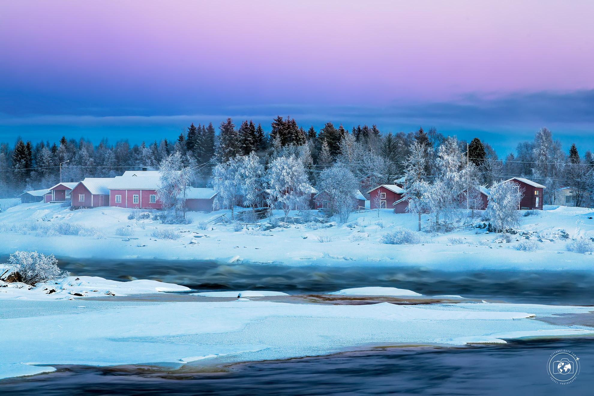 Fiume Tornio: il fiume che segna il confine tra Svezia e Finlandia