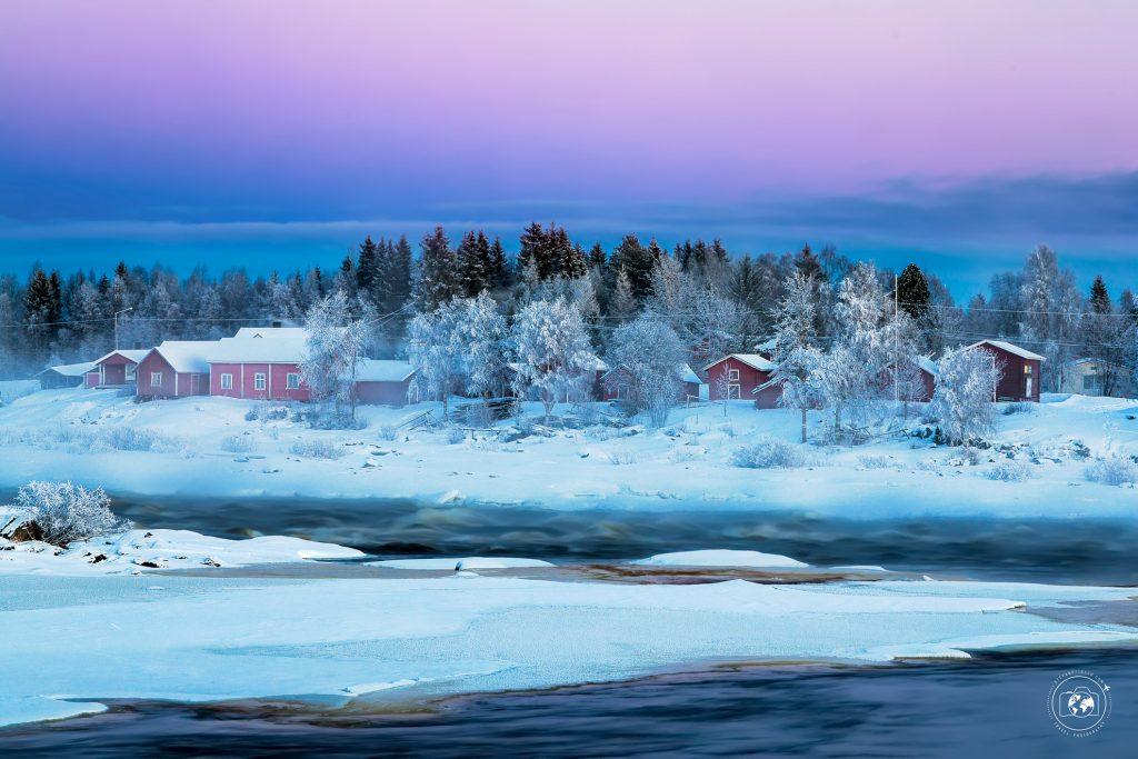 Kukkolankoski-frozen