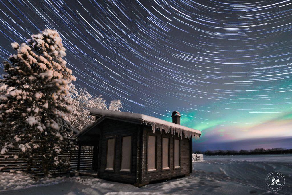 Startrail-sauna-aurora